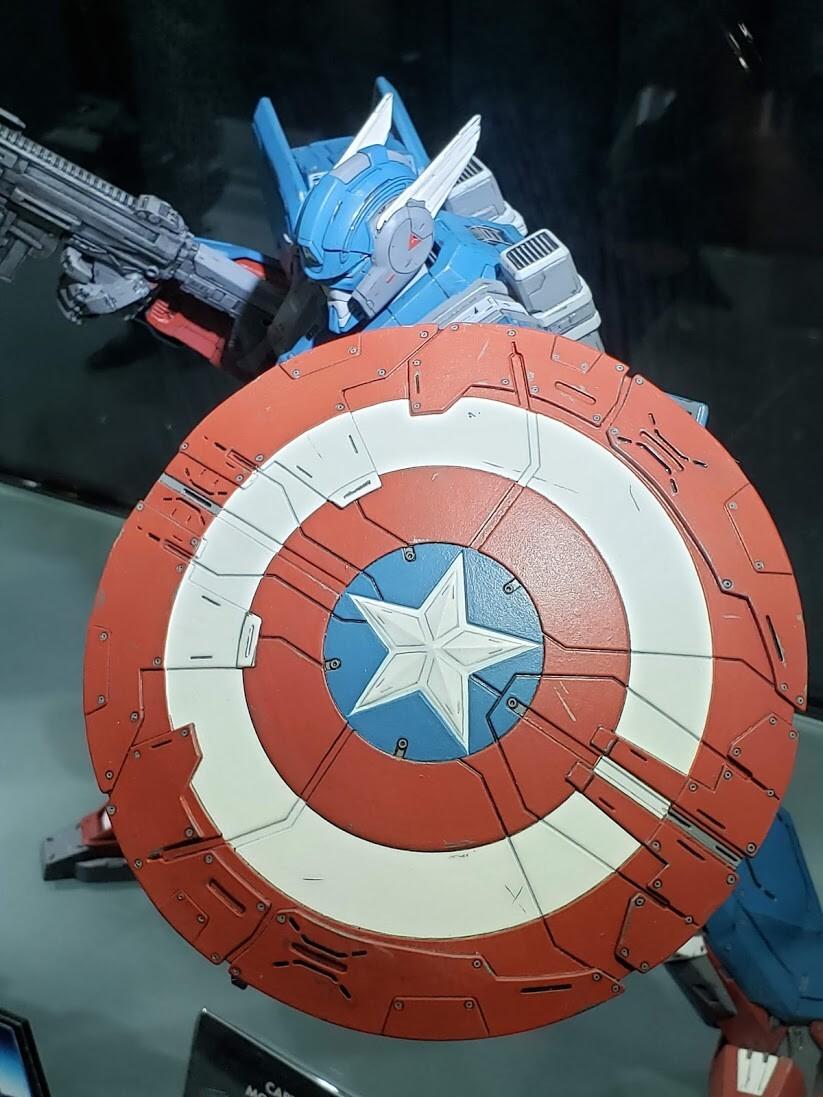 Mondo Mecha - Captain America