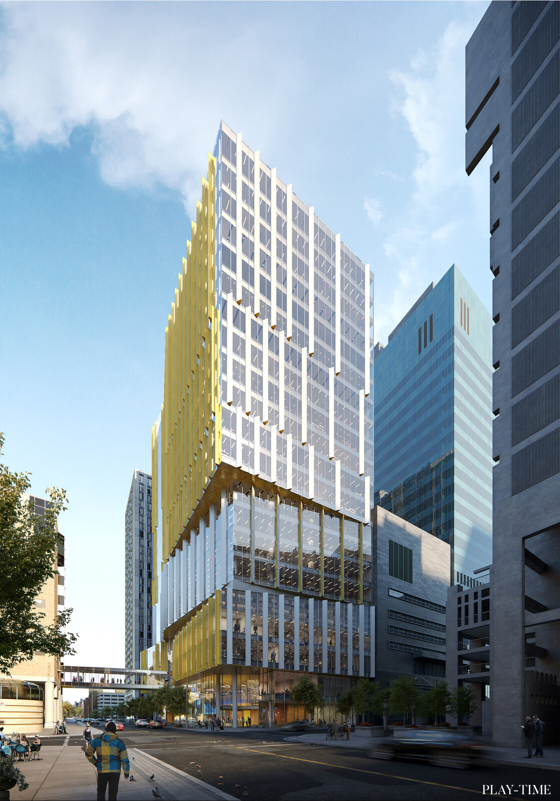 SickKids Support Center by B+H Architects. Image by Play-time