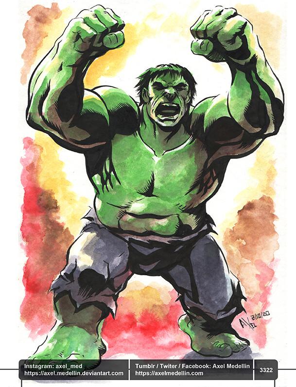 Jacktober, day 1. Hulk