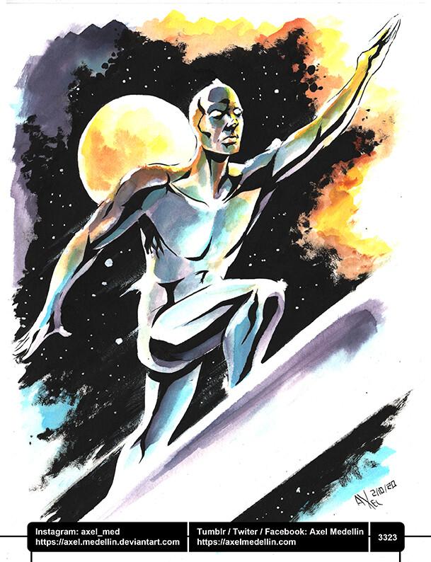 Jacktober, day 2. Silver Surfer.