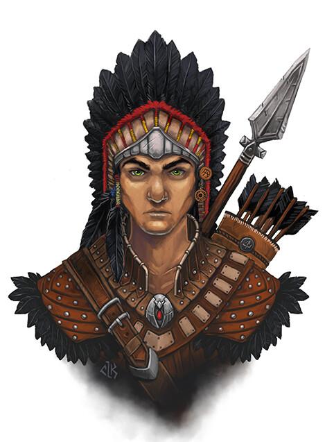 NPC portrait: Kresh