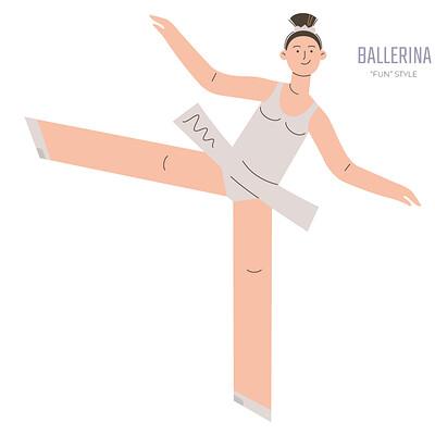 Stanislav batalov 0389 fun style ballerina wide