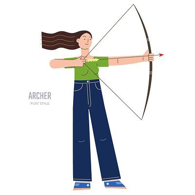 Stanislav batalov 0385 fun style archer wide
