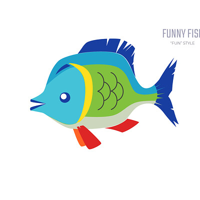 Stanislav batalov 0390 fun style fish wide