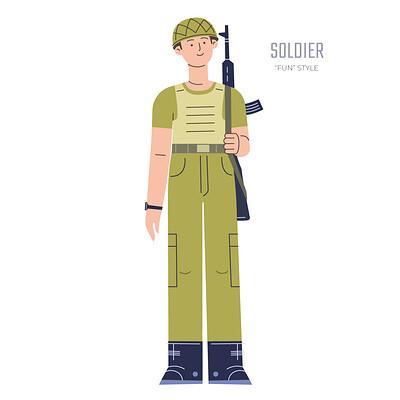 Stanislav batalov 0315 fun style soldier wide