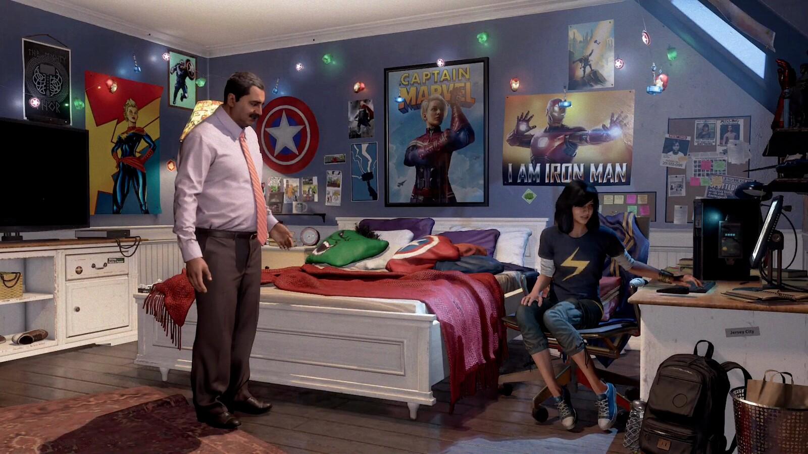 Kamala's Room: Modeling / Texturing