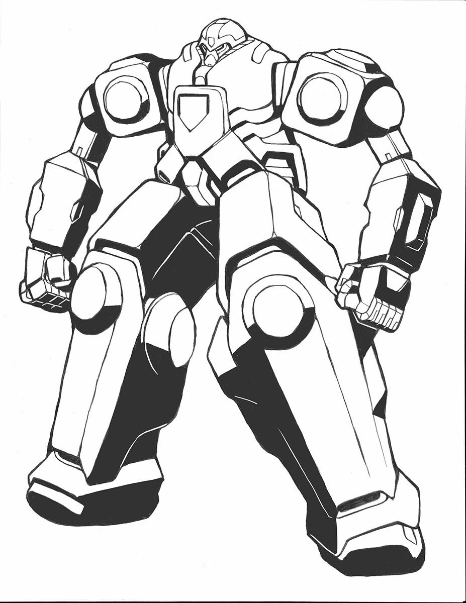 Codename: Empyre - Enforcer Omegabomb