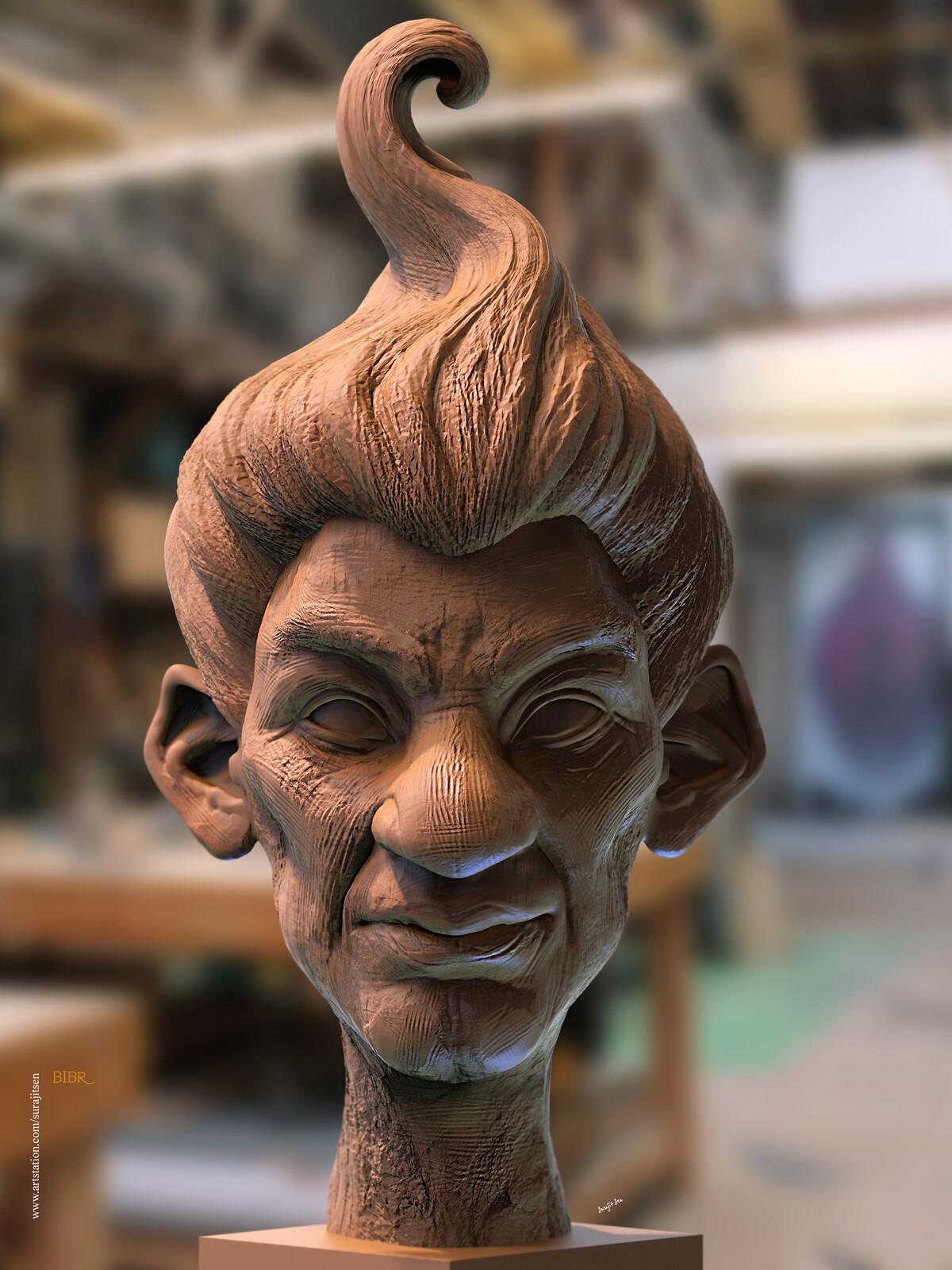 #doodle Speed Digital Sculpting study works... Bibr Background music- #hanszimmermusic
