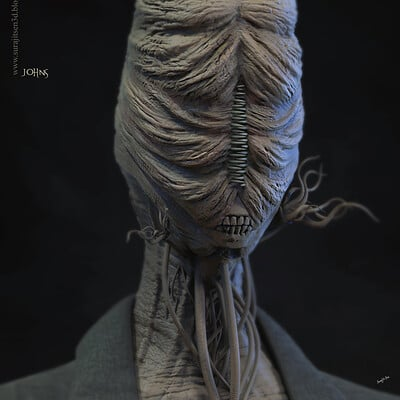 Surajit sen johns digital sculpture oct2020 surajitsena2