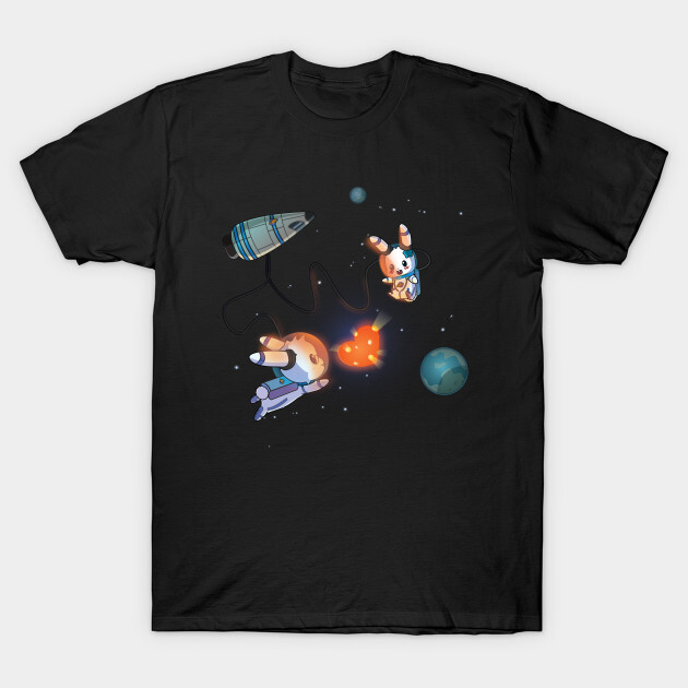 You can find the prints on teepublic. https://www.teepublic.com/t-shirt/1656967-bunnies-space-love?store_id=125261