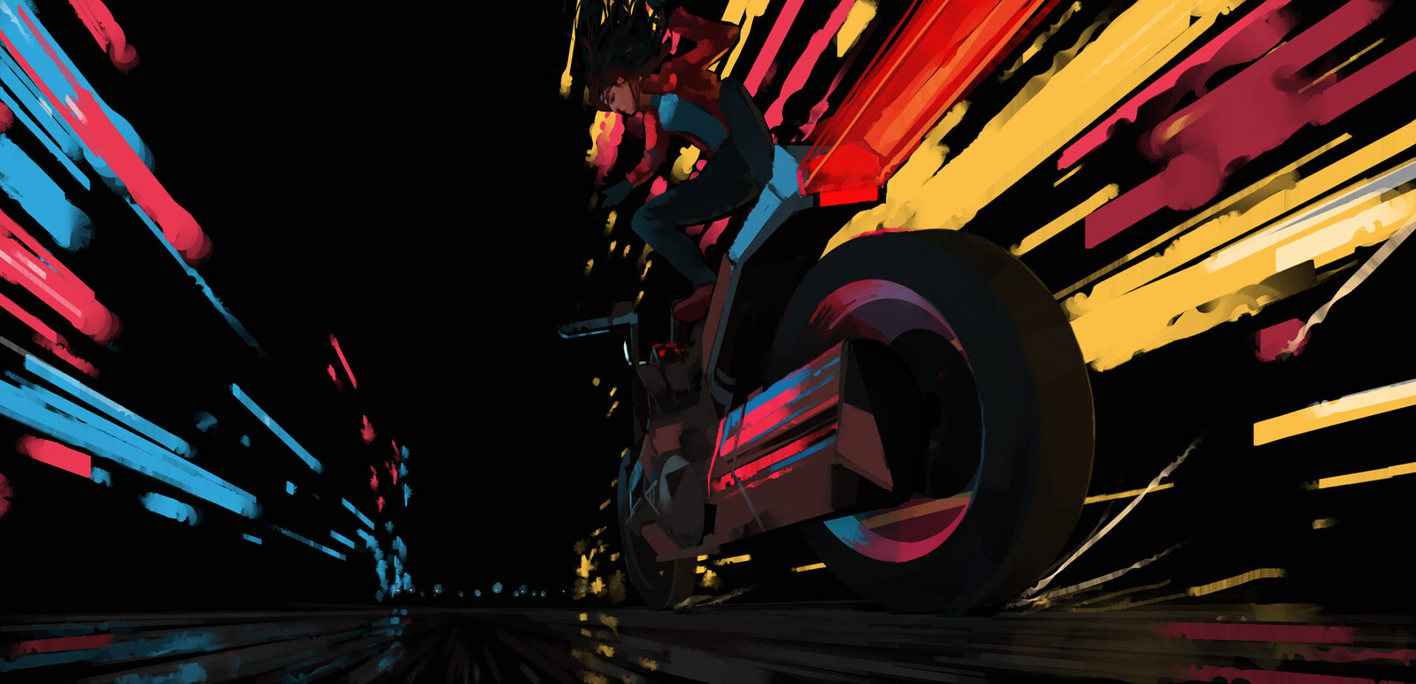 Inktober2019 - Day 28 - Ride