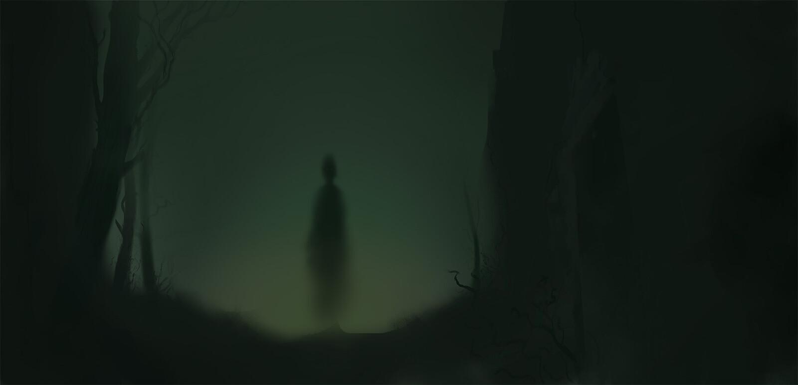 Inktober2019 - Day 22 - Ghost