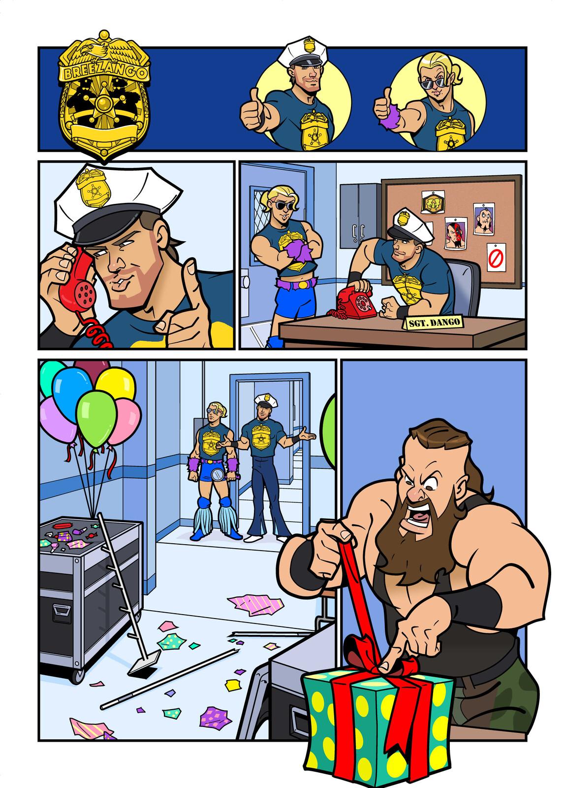 WWE Kids Fashion Police - Comic Strip #002 & #003