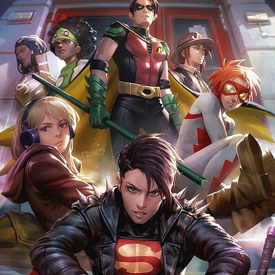 Derrick chew young justice 20 lrf