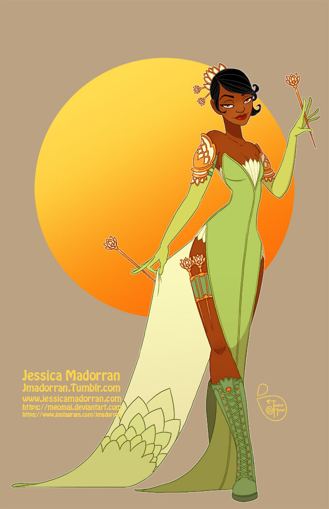 Patreon - Warrior Princess - Tiana