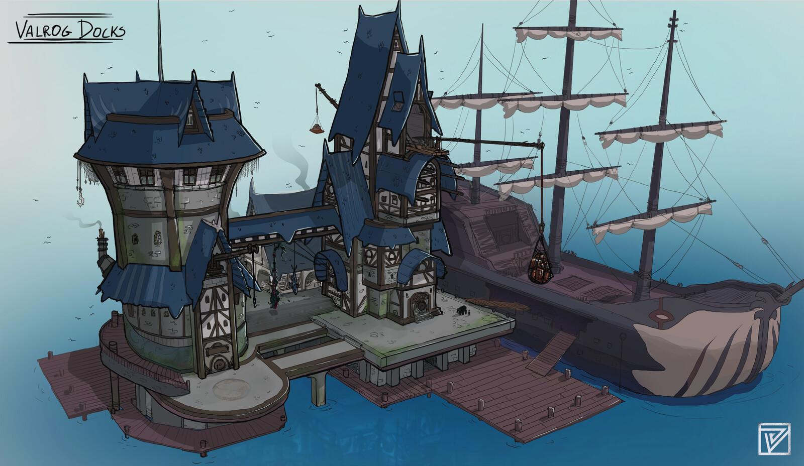 Eldenheart: Valrog City Docks