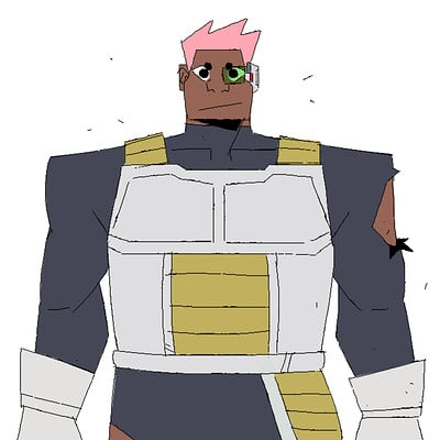 Kyle The Saiyan Warrior ( Dragon Ball Z )