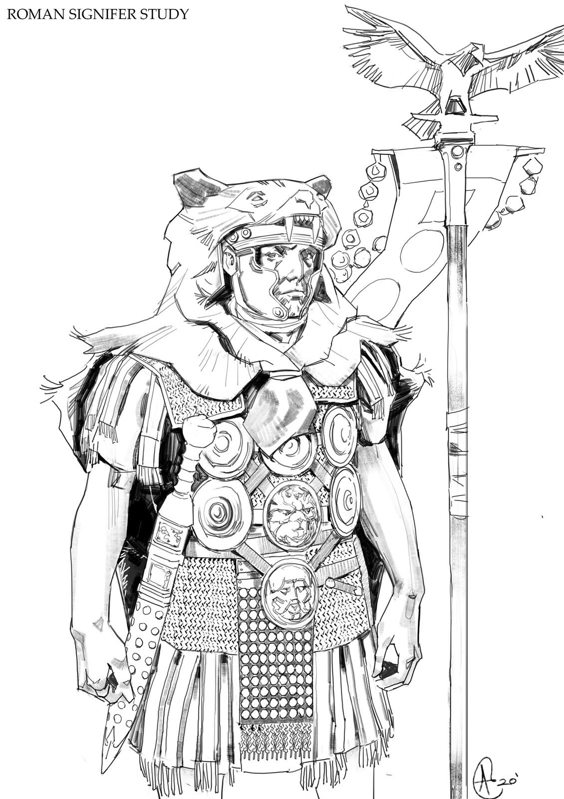 Roman Signifer Study