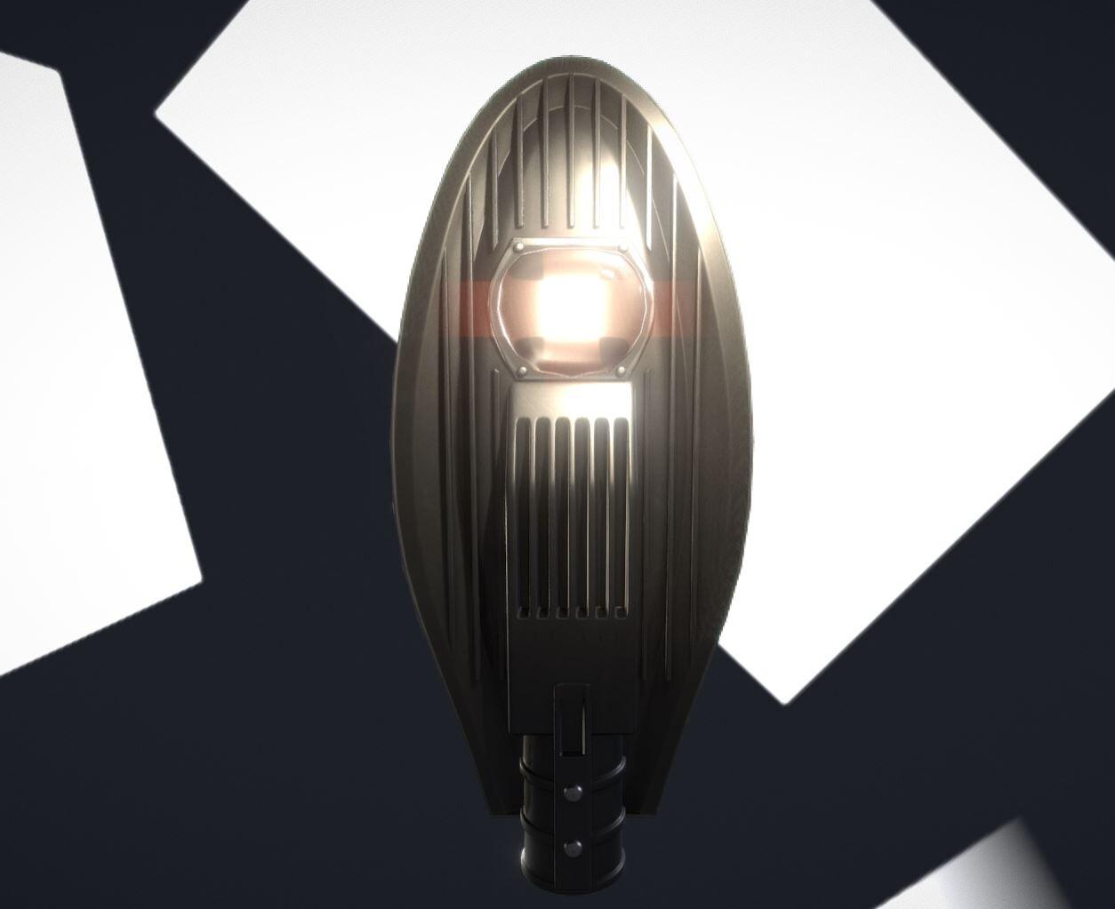 Street Light 14 (Low-Poly)
