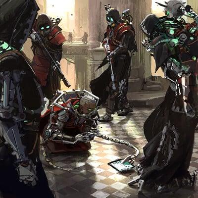 Dark Heresy Artworks II