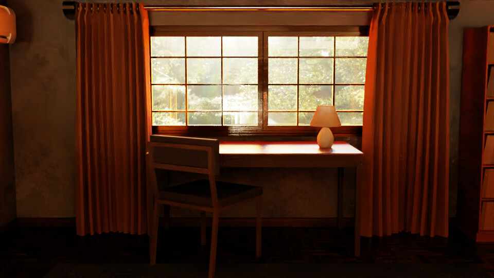 Table by the Window 1
