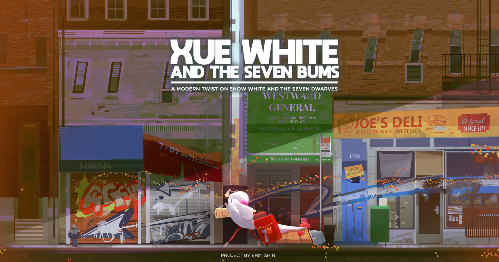 Xue White and the Seven Bums (A Modern Take on Snow White)