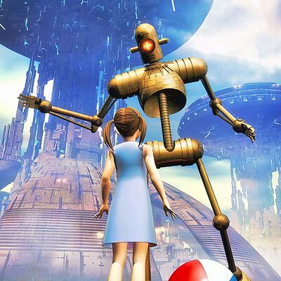 Luca oleastri i robot