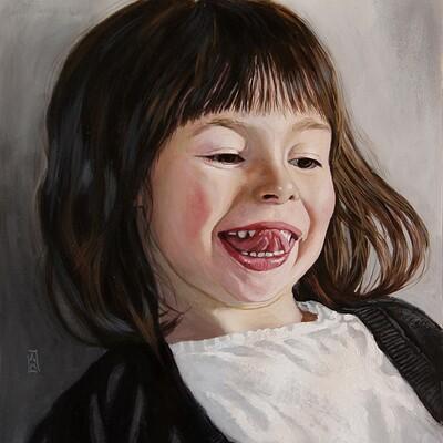 Andre mata child portrait by andre mata