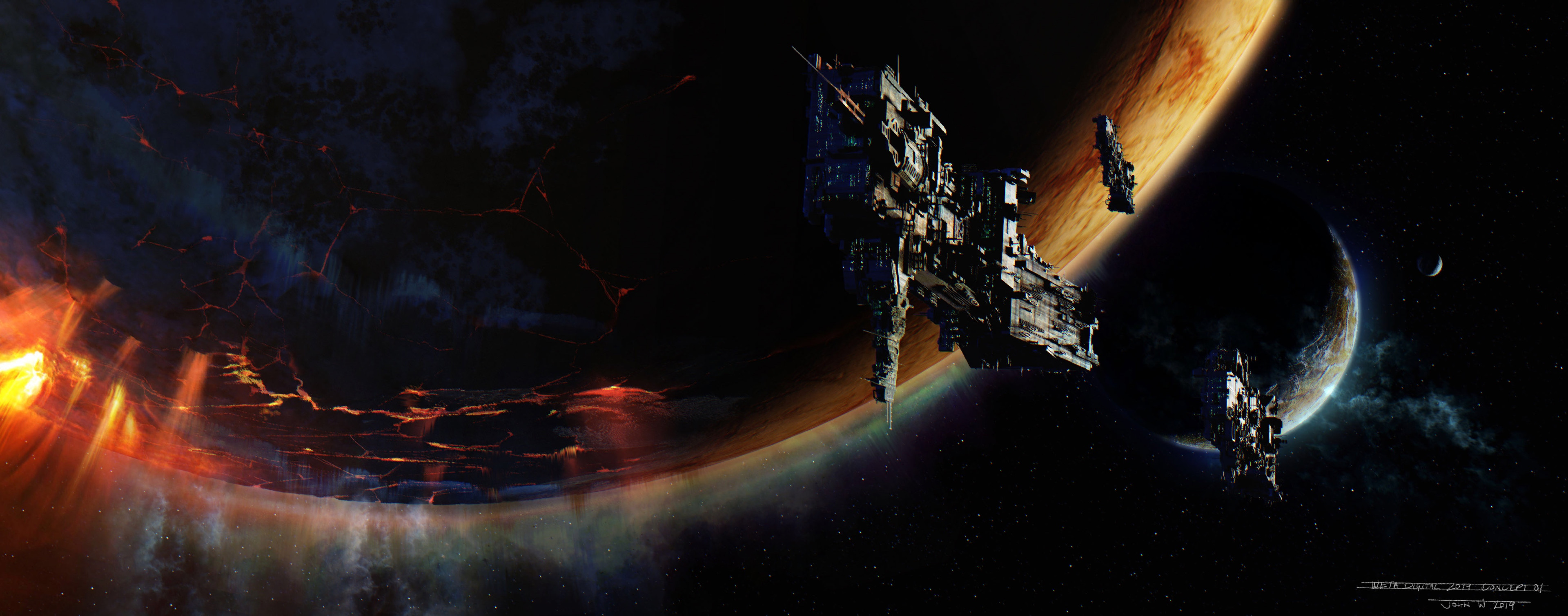 Concept 01 - Space Project - Weta Digital
