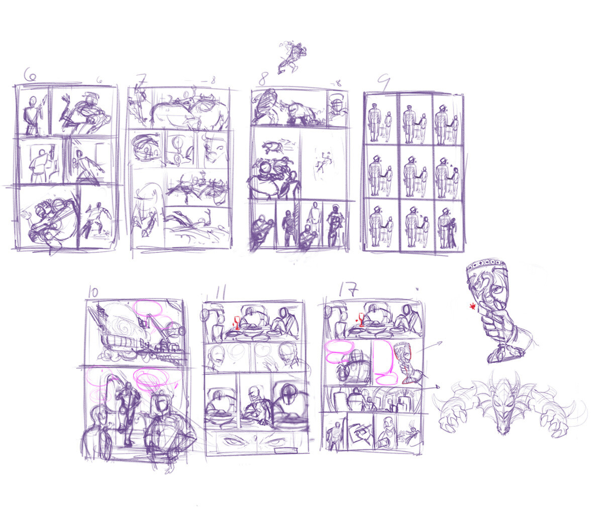 Pages layout.