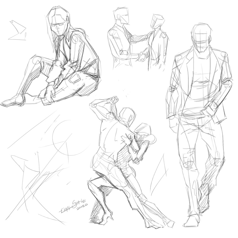 Poses #1