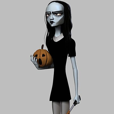 Halloween Gothic Girl