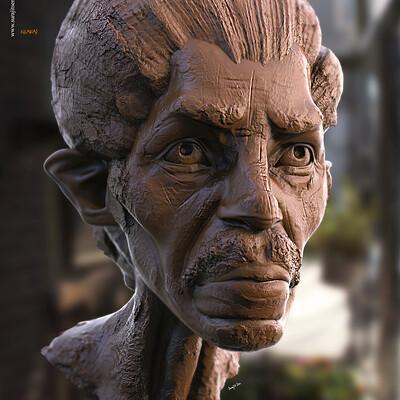 Surajit sen kharaj digital sculpture surajitsen oct2020a