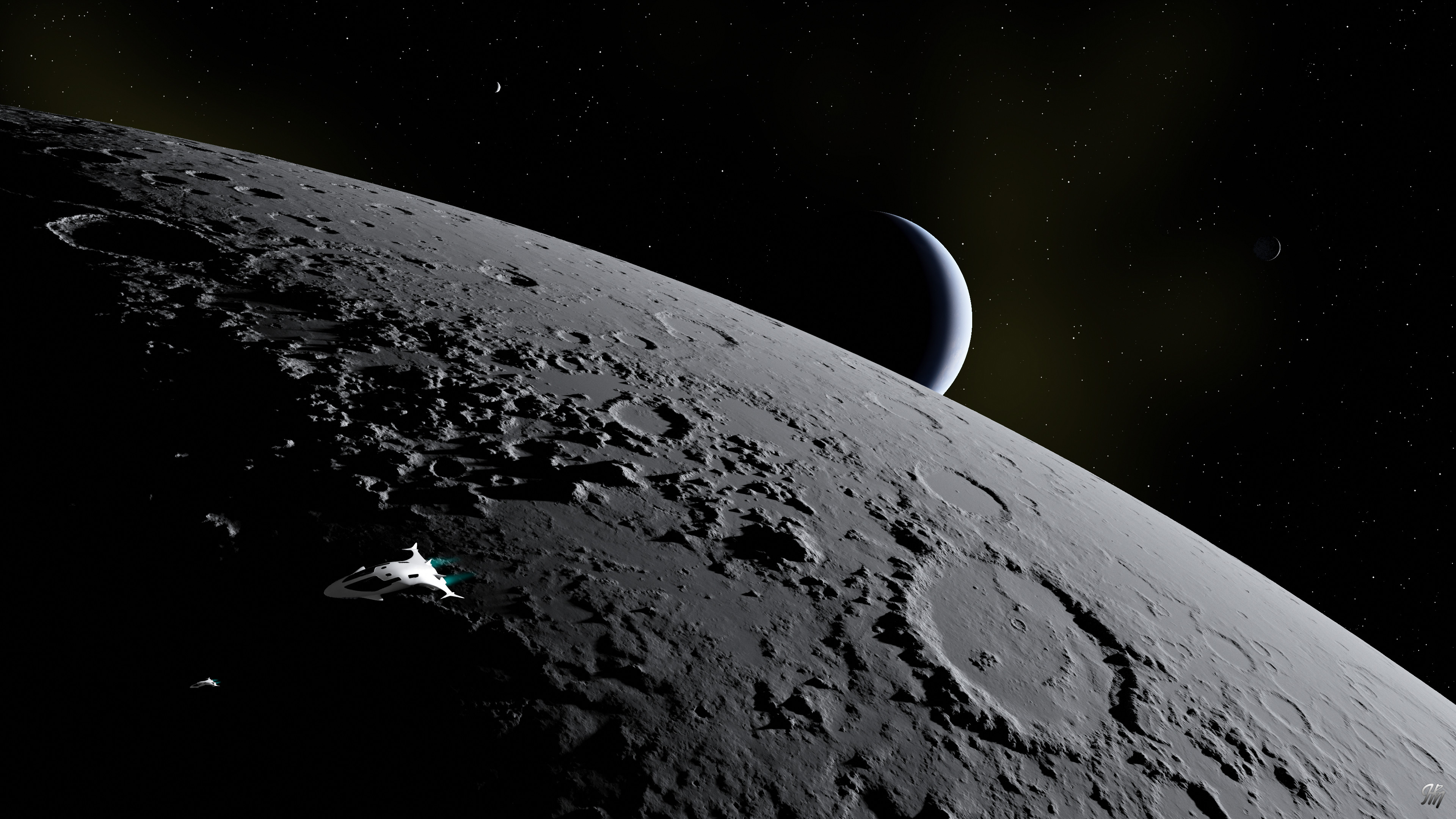 Inner Moon Flyby 20201010TG