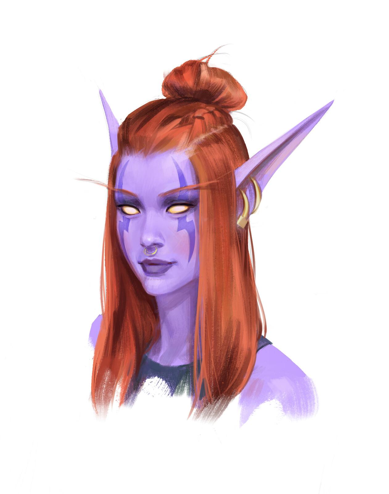 Miaow the Night Elf Druid (WoW)