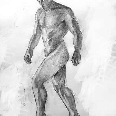 Male nude studies #1