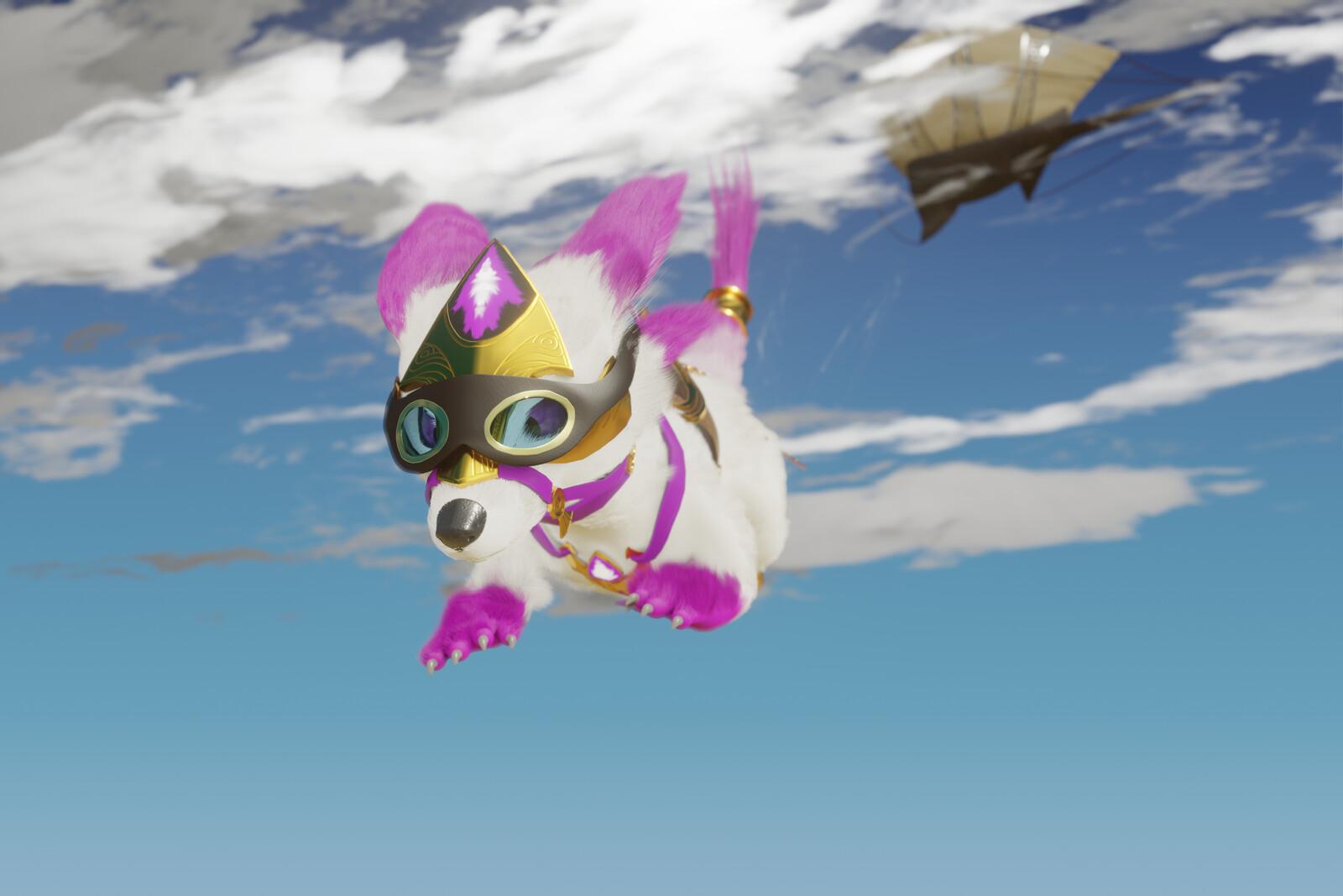 Charrtober 11 - Airdrop