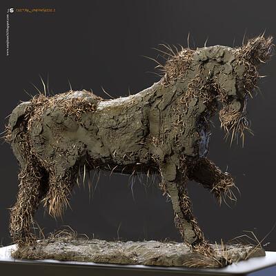 Surajit sen chetak unfinished2 2 digital sculpture surajitsen oct2020ab l