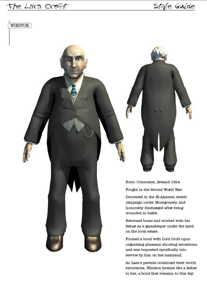 the original character, Core Design (Square-Enix property)