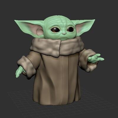 Baby Yoda - WIP
