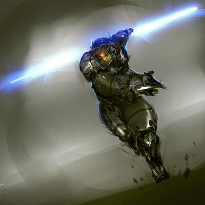 Benedick bana darkfall assault on sector core lighting