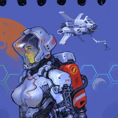Hwanggyu kim spacewoman01