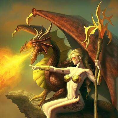George patsouras dragonwoman