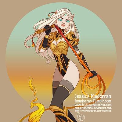 Jessica madorran commission elara 2020 artstation