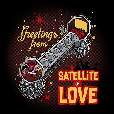 Steve rampton satellite of love