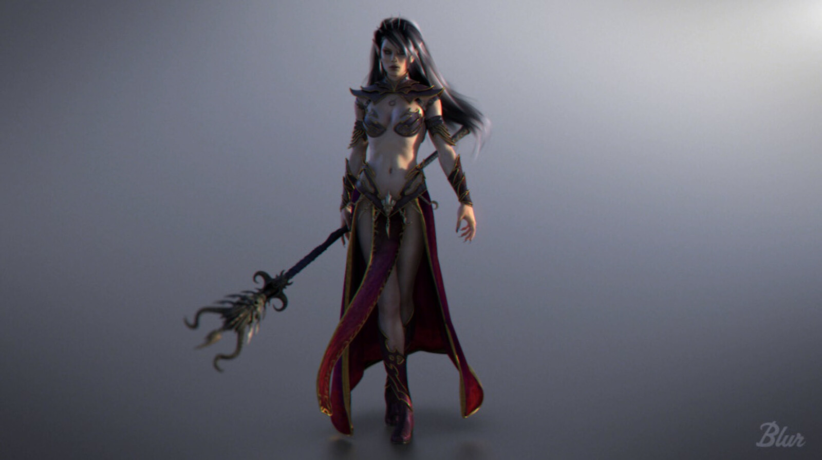 Dark Elf Sorceress - Warhammer