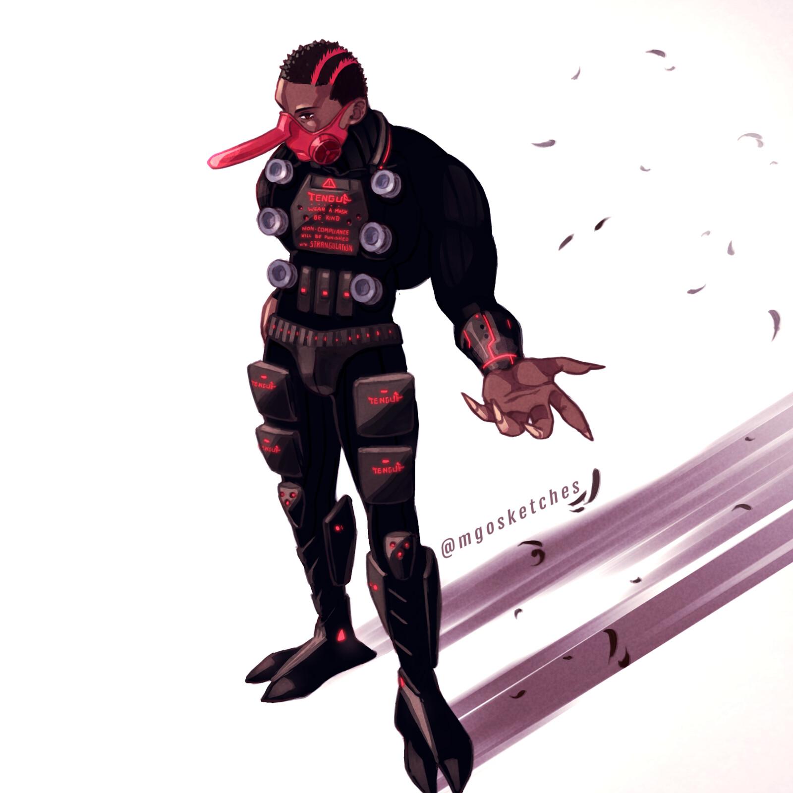 Health Enforcer Tengu