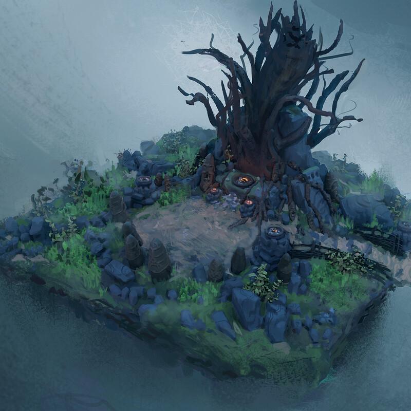 Yggdrasil's Rest - Sacred Tree