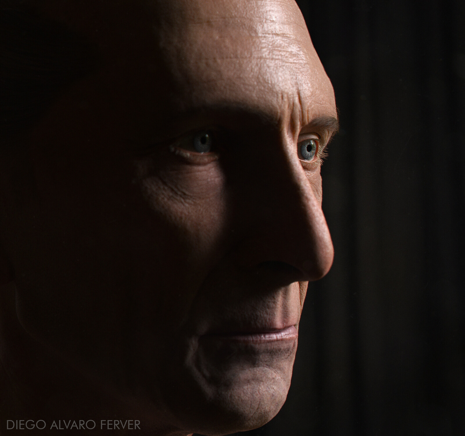Portrait of Peter Cushing
