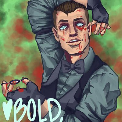 Bold egoist eddie